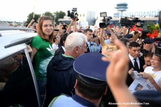 Simona Halep a revenit in tara: