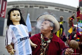 Campionatul Mondial de Fotbal 2014. Samanii din Peru au prezis cine va castiga Cupa Mondiala. VIDEO