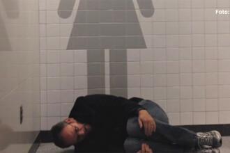 Ce a facut un american cand a ramas singur in aeroportul din Las Vegas. 4 milioane de oameni s-au uitat la videoclipul lui