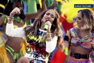 CAMPIONATUL MONDIAL DE FOTBAL incepe in Brazilia. Jennifer Lopez s-a razgandit si participa la ceremonia de deschidere