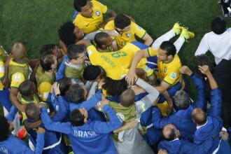 CAMPIONATUL MONDIAL DE FOTBAL 2014. Brazilia - Croatia 3 -1. Turneul final a debutat cu un autogol si un penalti controversat