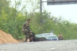 VIDEO. Momentul in care un jurnalist rus este ucis de un obuz in estul Ucrainei. Colegul sau a filmat bombardamentul