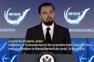 Leonardo DiCaprio doneaza 7 milioane de dolari pentru protejarea oceanelor: