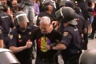 Regele Felipe al VI-lea, contestat inca din prima zi a incoronarii. Manifestatii violente impotriva monarhiei in Spania