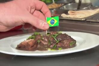 Febra Campionatului Mondial a cuprins SUA. Restaurantele si-au adaptat meniurile si servesc feijoada si bere traditionala