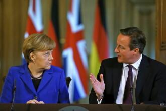 Liderii Europei, mai invrajbiti ca niciodata. Cameron face o miscare fara precedent si pune pe masa iesirea Angliei din UE