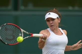 SIMONA HALEP - TELIANA PEREIRA 6-2, 6-2. Romanca s-a calificat in turul 2 la Wimbledon 2014. Reactia ei dupa meci