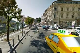 ANIMATIE GRAFICA. Femeie lovita mortal de un taxi in timp ce incerca sa-si salveze cainii din fata masinilor