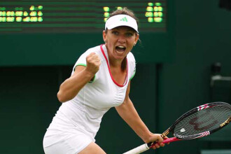 Simona Halep vs. Belinda Bencic: 6-4, 6-1. Victorie rapida pentru romanca, sambata, la Wimbledon