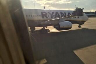 Momente de cosmar pe aeroportul Stansted din Londra. Doua avioane pline cu pasageri s-au ciocnit