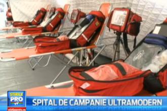 Romania are al 13-lea spital de campanie. Ce dotari ultramoderne are si cum poate fi folosit in caz de dezastru natural