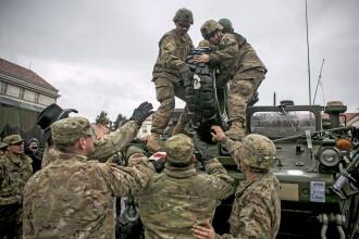 Trupe rusesti au efectuat exercitii de lupta in Transnistria. Tensiunile de la granita cu Ucraina au crescut