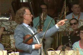 Andre Rieu incepe seria celor 7 concerte la Bucuresti. Peste 12.000 de oameni sunt asteptati la primul spectacol