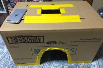 Cinematograf dintr-o cutie de carton. Ideea care i-a cucerit pe tinerii din Japonia ce isi doresc intimitate