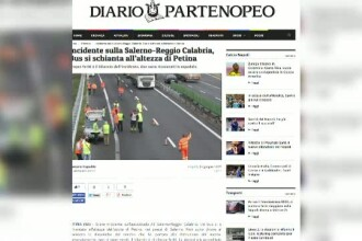Un autocar care transporta cetateni romani a fost implicat intr-un accident in Italia. Cinci persoane au fost ranite
