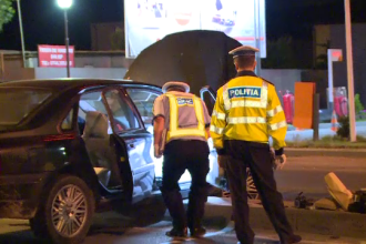 Femeie ucisa pe o trecere de pietoni din Voluntari de o masina inmatriculata in Suedia. Soferul a abandonat masina si a fugit