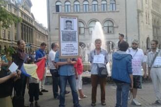 Miting pentru demisia lui Victor Ponta: 200 de oameni au protestat in Capitala. La Cluj, au fost 600 de protestatari