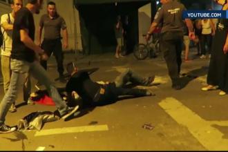 Declaratii contradictorii dupa ce un tanar ar fi fost impuscat de un politist in centrul Capitalei. Ce spun martorii