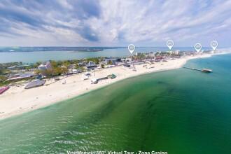 Panorama 360 de grade a statiunii Mamaia. Ce atmosfera este pe litoral si cum se distreaza turistii