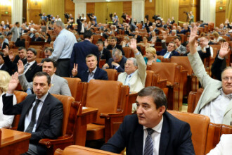 Parlamentul va deveni in sfarsit mai mic. A fost votata legea dupa care vor fi organizate alegerile din 2016