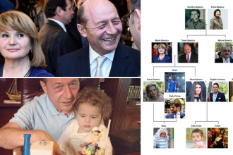 Locul si rolul lui Dragos in familia Basescu. Legaturile de ADN si DNA din arborele lor genealogic - INFOGRAFIC INTERACTIV