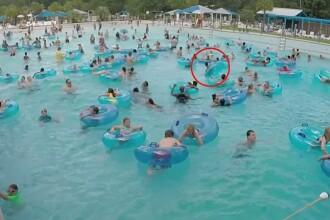 S-a intamplat in weekend, intr-o piscina plina cu oameni. Un copil a fost la un pas de inec. VIDEO