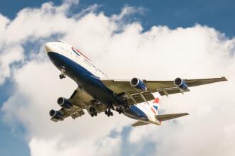 Un barbat a creat panica la bordul unui avion British Airways. Ce a urmat dupa ce a anuntat ca are o bomba si