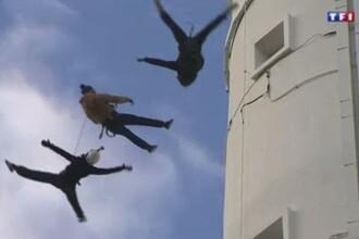 Tragedie la repetitiile pentru un show din Franta. O acrobata de 12 ani a murit, dupa ce a cazut de la 30 de metri inaltime