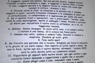 """""""Fii salbatic ca marea"""". Tema pentru vacanta pe care le-a dat-o un profesor italian elevilor sai"""