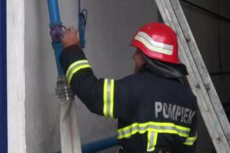 La Galati, pompierilor li se contorizeaza apa folosita la stingerea incendiilor. Explicatia data de primarie pentru apometre