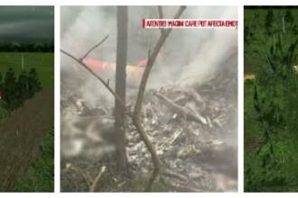 Elicopter SMURD prabusit in Republica Moldova. ANIMATIE GRAFICA: cum s-a produs tragedia in care au murit patru persoane