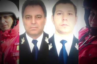 Cei patru salvatori SMURD vor fi inmormantati duminica. Presedintele Iohannis i-a decorat post-mortem
