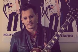 Mesajul lui Johnny Depp pentru fanii sai din Romania, inaintea concertului din Capitala. Ce le-a transmis artistul: VIDEO