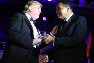 Cum l-a desfiintat Muhammad Ali pe Donald Trump in 132 de cuvinte. Mesajul transmis de magnat dupa moartea sportivului