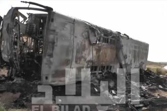 Tragedie de proportii in Algeria. 33 de morti si 22 de raniti, dupa ce un camion s-a ciocnit cu un autobuz. VIDEO