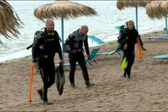 Un caine le-a dat o lectie de educatie civica turistilor din Vama Veche. Ce au gasit scafandrii in apa marii