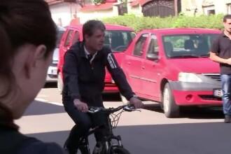 ALEGERI LOCALE 2016, lupta pentru marile orase. Un candidat a venit sa voteze pe bicicleta