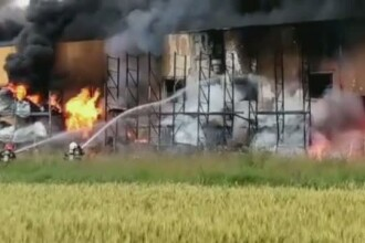 Razvan Dumitru Luchian, pompierul mort in explozia de la fabrica din Jilava, avansat post-mortem la gradul de sublocotenent