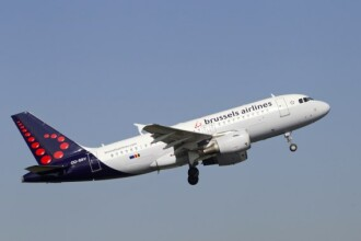Un presupus pasager clandestin, gasit mort in trenul de aterizare al unui avion Brussels Airlines