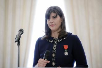 Kovesi a primit Legiunea de Onoare cu lacrimi in ochi: Sunt mandra ca sunt inconjurata de oameni ce doresc sa schimbe Romania