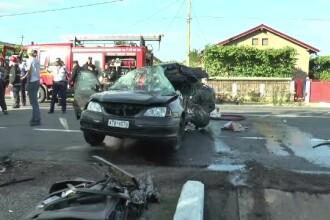 Bilantul accidentului violent de pe E85 a crescut la 4 morti si 2 raniti. Manevra incercata de soferul uneia dintre masini