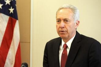 Ambasadorul SUA la Bucuresti: Faptul ca un condamnat a fost ales primar transmite un mesaj periculos partenerilor Romaniei