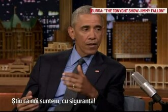 Barack Obama, la Jimmy Fallon show: