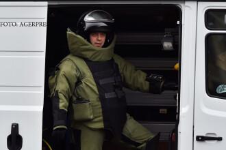 Alertă cu bombă pe Calea Victoriei, la o bancă. 2000 de angajați au fost evacuați