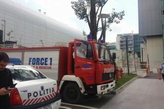 Alerta FALSA cu bomba la o cladire de birouri din nordul Capitalei. Paznicul a recunoscut ca a sunat la 112