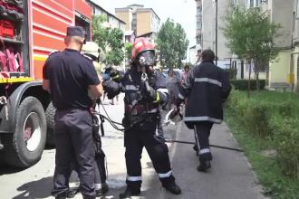 Momente de panica intr-un bloc din Targoviste. Pompierii au venit si au evacuat toti locatarii