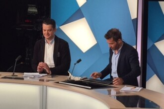 Lucian Lipovan, invitat de postul francez TF1 pentru a vorbi despre meciul FRANTA - ROMANIA