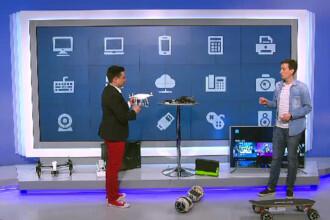 iLikeIT. Cele mai bune gadgeturi ale momentului, testate in direct. Cum functioneaza drona care nu se loveste de nimic