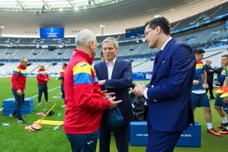 Mesajul lui Dacian Ciolos dupa ce a asistat la ultinul antrenament al nationalei inainte de Romania-Franta