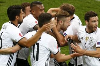 Germania - Ucraina 2-0 in cel mai spectaculos meci de pana acum la UEFA EURO 2016. REZUMATUL VIDEO